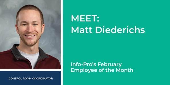 Meet Matt Diederichs