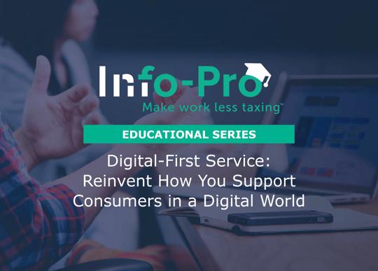 Digital banking and customer service