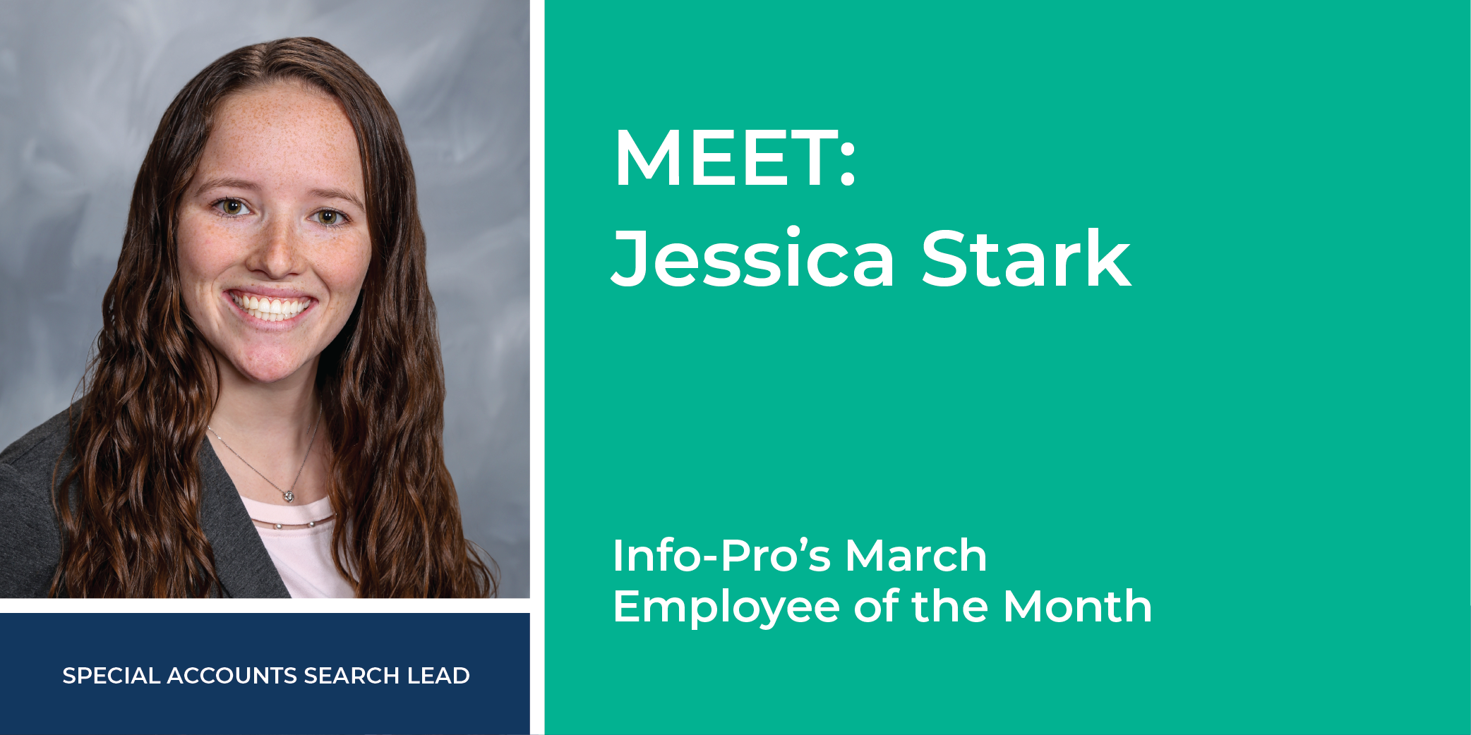 March Featured Info-Pro Employee: Jessica Start