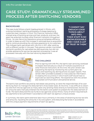 Case Study: Dramatically Streamlined Process After Switching Vendors
