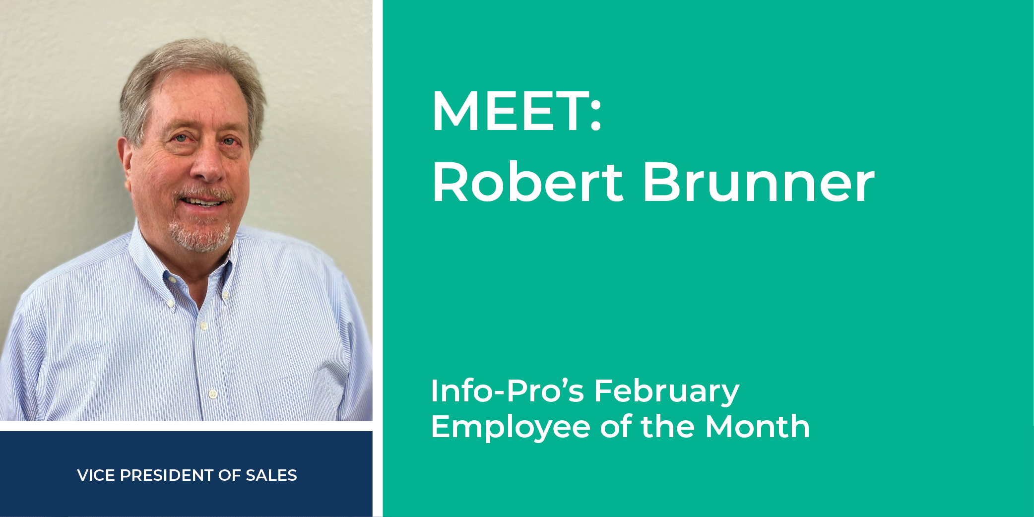 Info-pro February Employee of the month.