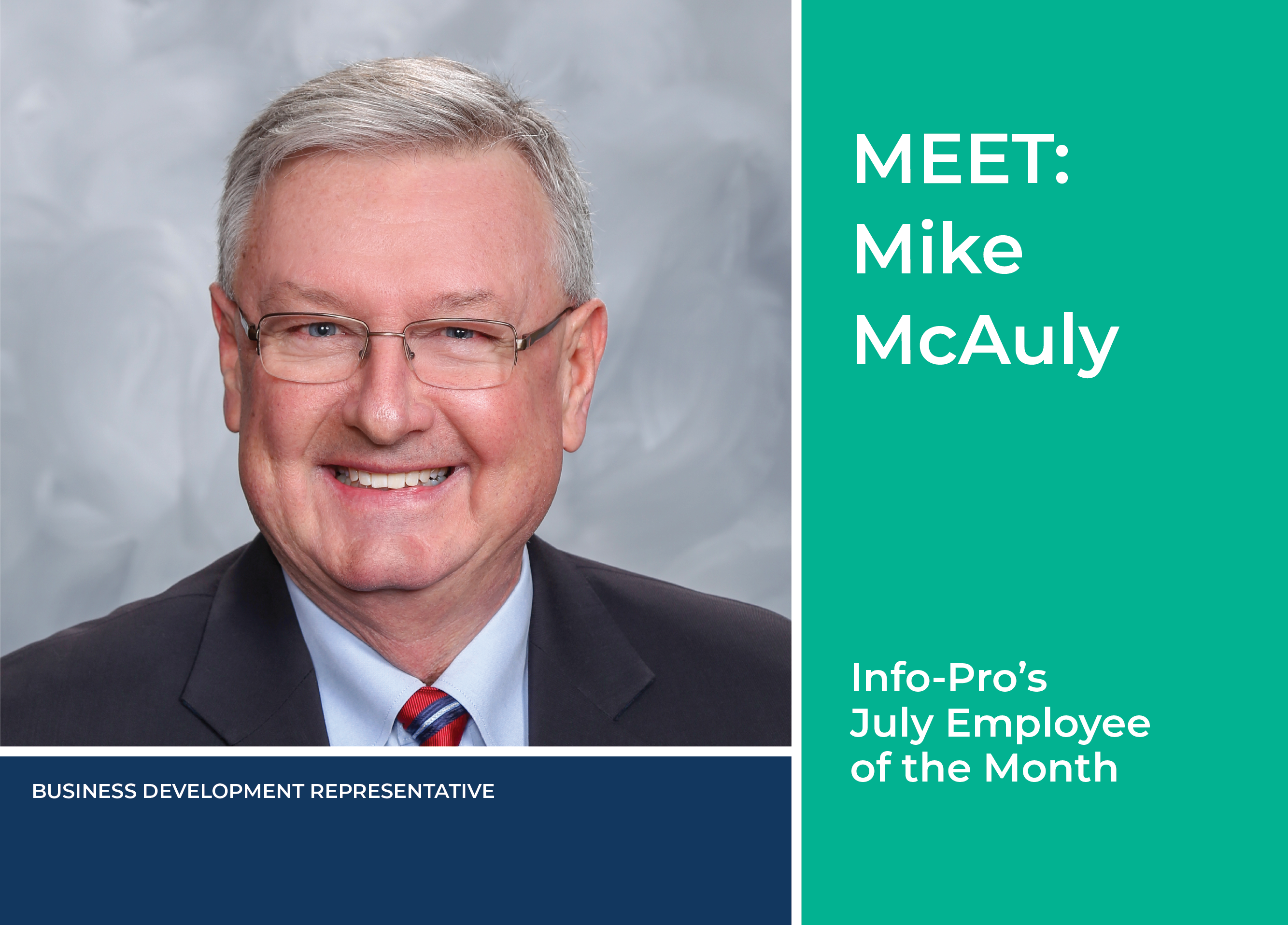 Info-Pro's July Employee of the Month: Mike McAuly