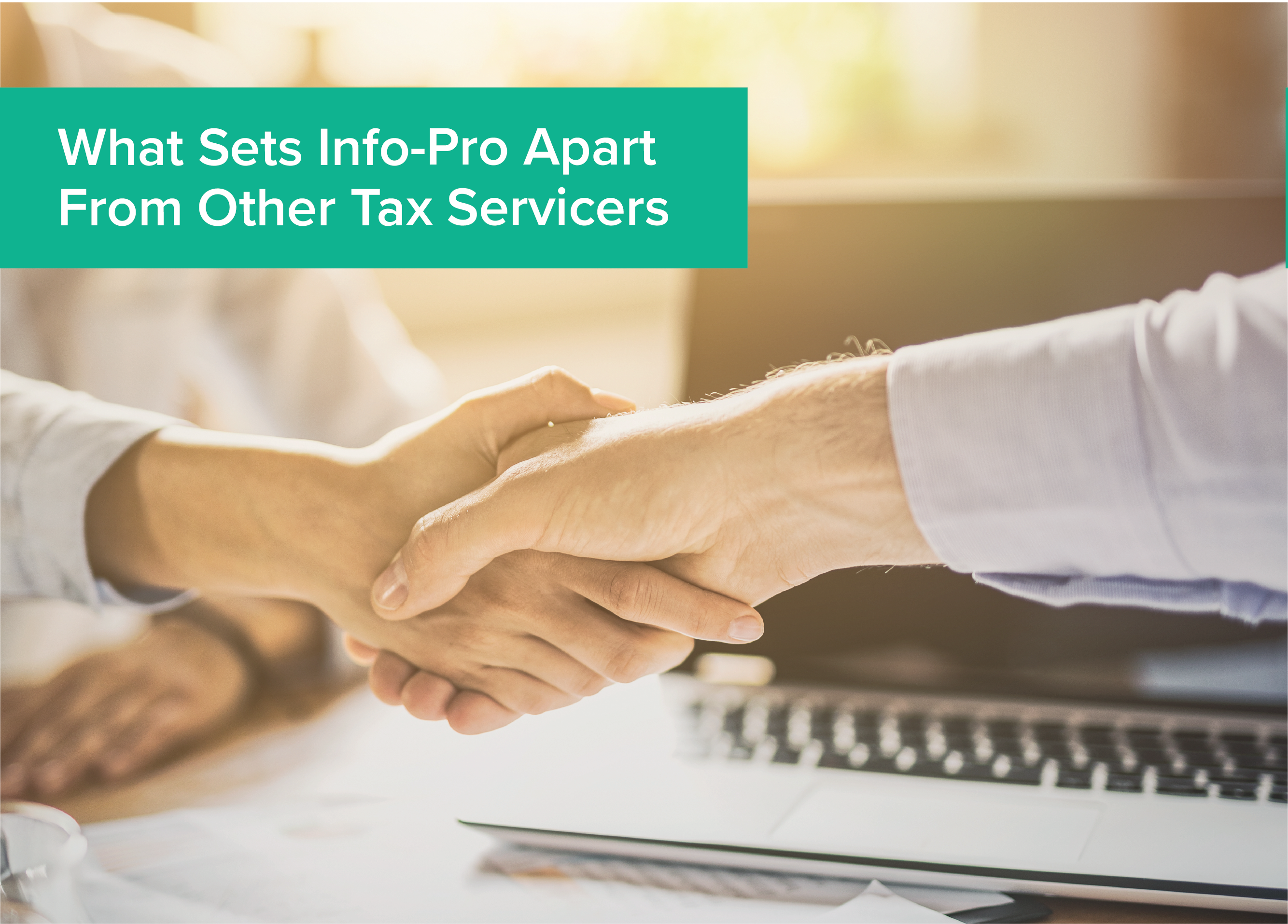 What Sets Info-Pro Apart From Other Tax Servicers