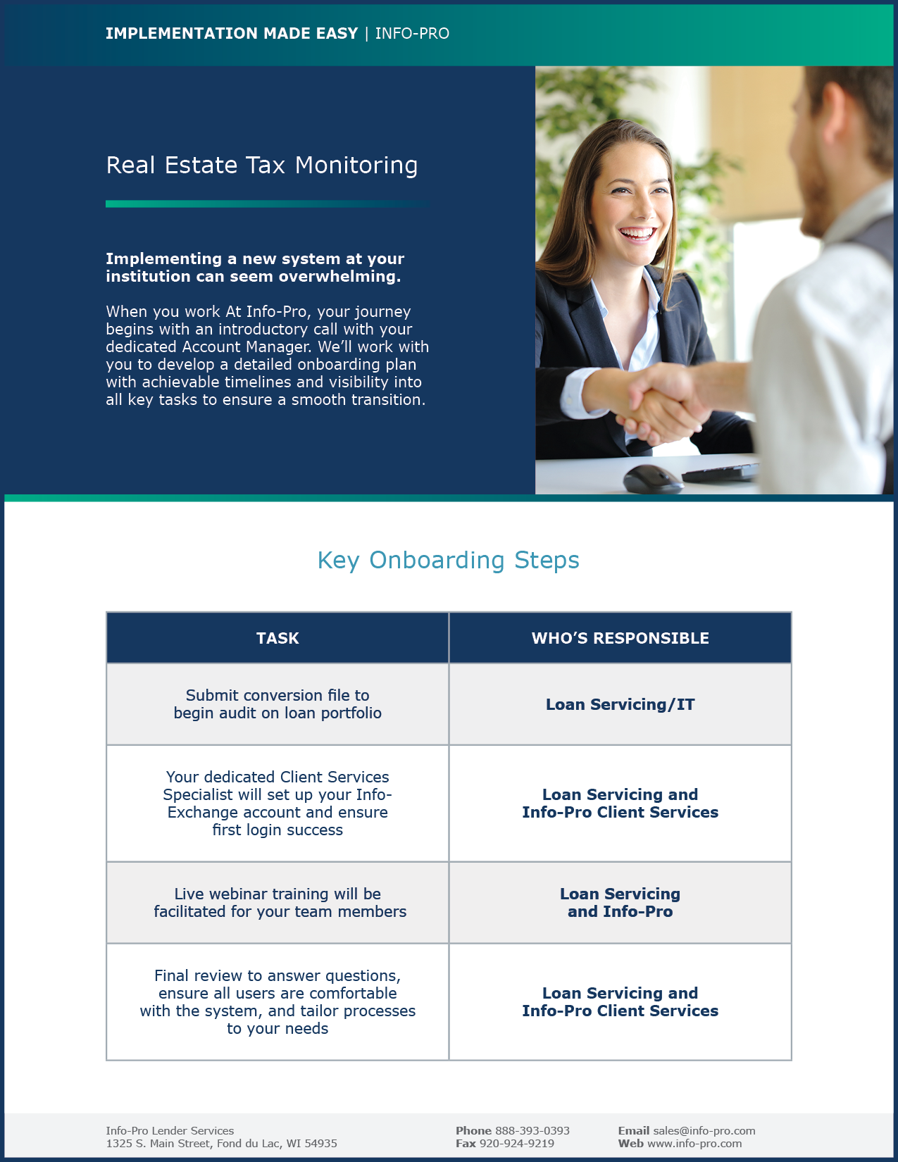 IFP_FAQ_Real Estate Tax Monitoring_Cover