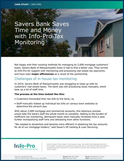Savers Bank Case Study
